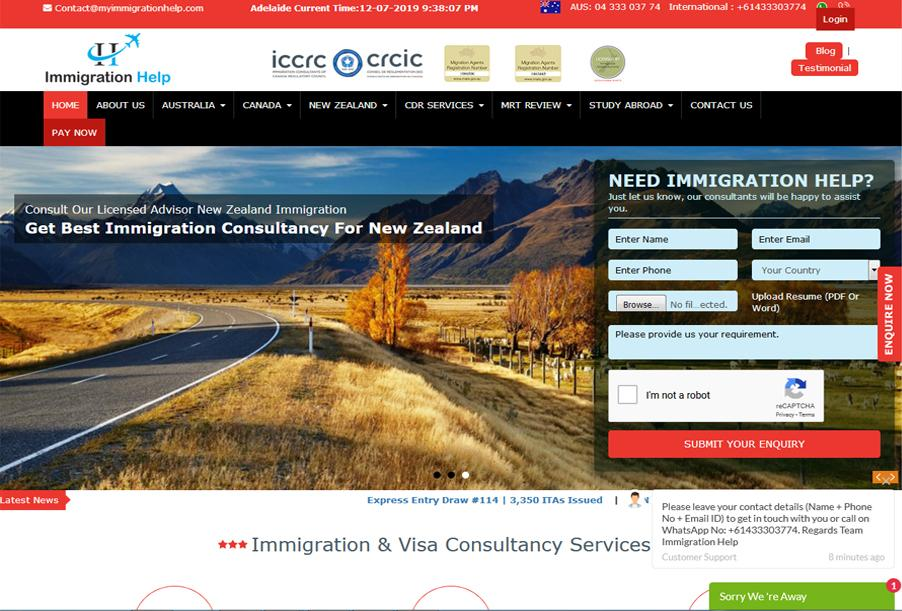 My Immigration Help India Australia
