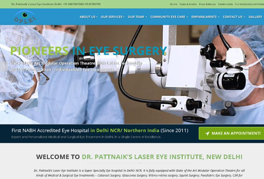 Dr. Pattnaik's Laser Eye Institute Delhi, India