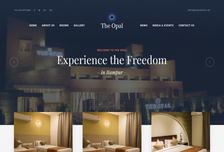 The Opal Hotel, Rampur, India