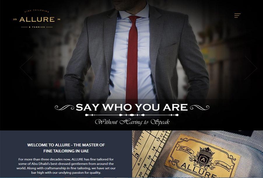 Allure Fine Tailoring and Fabrics Abu Dhabi, UAE