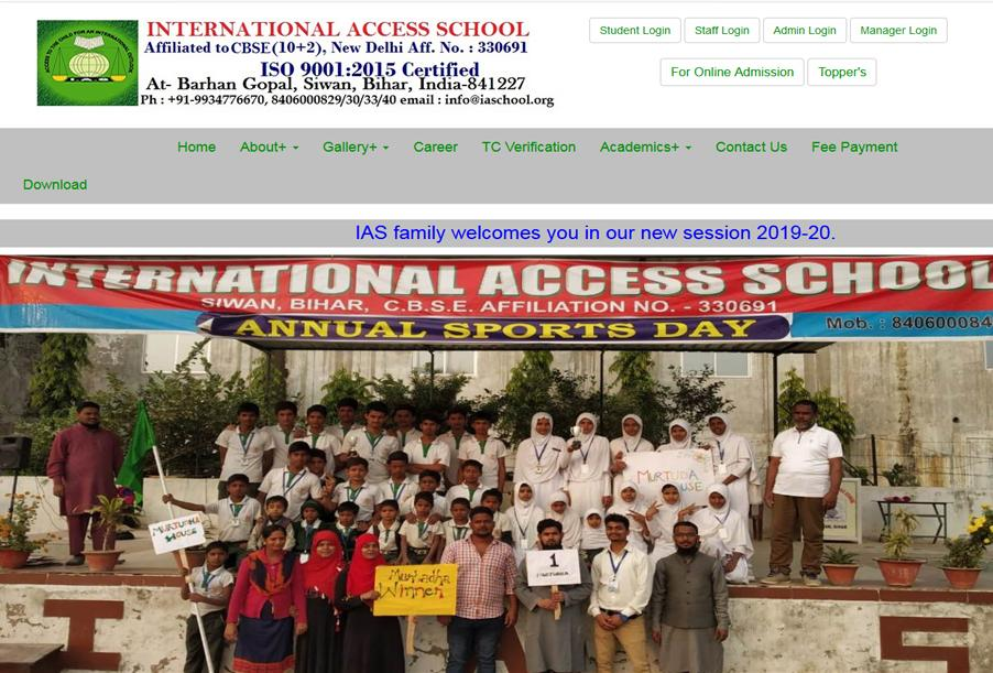 International Access School, Bihar, India